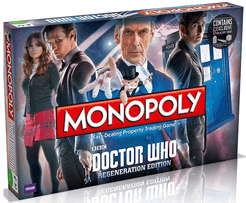 Monopoly: Doctor Who – Regeneration Edition
