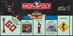 Monopoly: Harley-Davidson Motorcycles