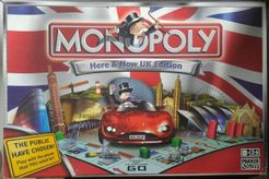 Monopoly: Here & Now UK Edition