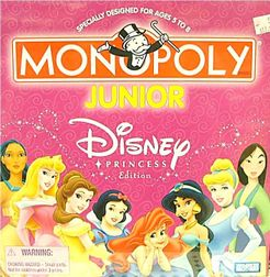 Monopoly Junior: Disney Princess