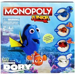 Monopoly Junior: Finding Dory edition