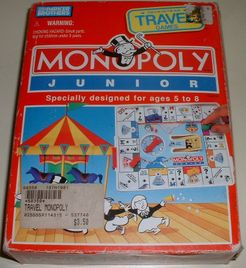 Monopoly Junior: Travel Edition