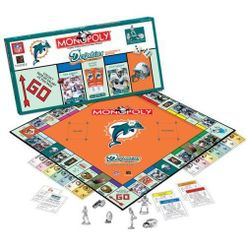 Monopoly: Miami Dolphins Collector's Edition