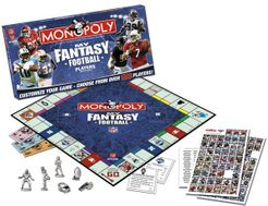 Monopoly: My Fantasy Football Players Edition