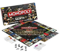Monopoly: New Orleans Saints Super Bowl XLIV Champions Collector's Edition