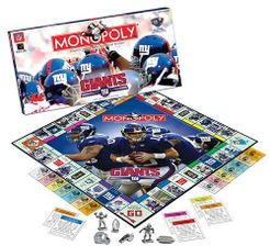 Monopoly: New York Giants Collector's Edition
