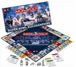 Monopoly: New York Giants Superbowl XLII Champions