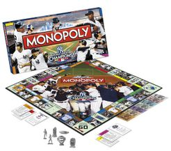 Monopoly: New York Yankees World Series Champions Collector's Edition