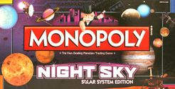 Monopoly: Night Sky Solar System Edition