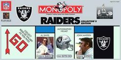 Monopoly: Oakland Raiders Collector's Edition