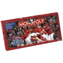 Monopoly: Philadelphia Phillies 2008 World Series Champions Collector's Edition