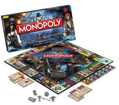 Monopoly: Pirates of the Caribbean On Stranger Tides Collector's Edition