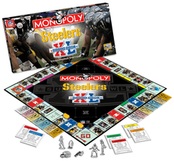 Monopoly: Pittsburgh Steelers Super Bowl XL Champions Collector's Edition
