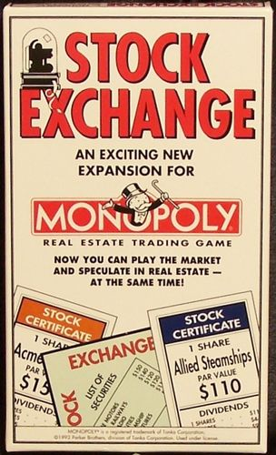 Monopoly Stock Exchange Add-on