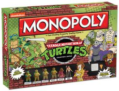 Monopoly: Teenage Mutant Ninja Turtles Collector's Edition