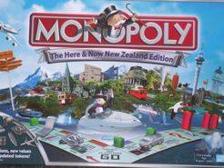 Monopoly: The Here & Now New Zealand Edition