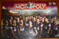 Monopoly: Wow Brisbane Broncos Charity Edition