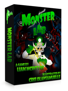 Monster Lab Card Game