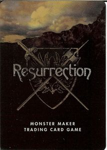 Monster Maker Resurrection: The Monster Maker TCG