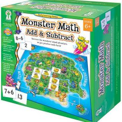 Monster Math Add and Subtract