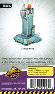 Monsterpocalypse Miniatures Game: Building – G.U.A.R.D. Defense Base