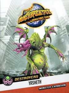 Monsterpocalypse Miniatures Game: Destroyers Lords of Cthul Monster – Yasheth