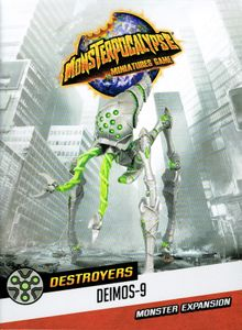 Monsterpocalypse Miniatures Game: Destroyers Martian Menace Monster – Deimos-9