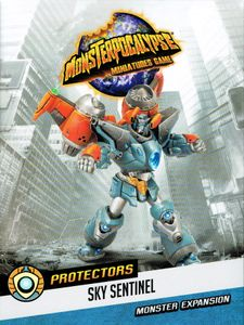Monsterpocalypse Miniatures Game: Protectors G.U.A.R.D. Monster – Sky Sentinel