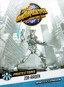 Monsterpocalypse Miniatures Game: Protectors Shadow Sun Syndicate Monster – Zor-Raiden