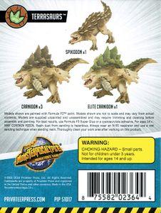 Monsterpocalypse Miniatures Game: Protectors Terrasaurs Unit Expansion 1
