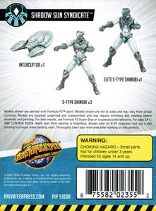 Monsterpocalypse Miniatures Game: Shadow Sun Syndicate Unit Expansion 1