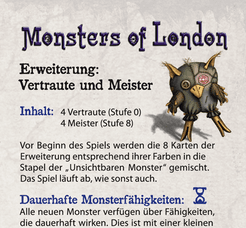 Monsters of London: Familiars and Masters Expansion