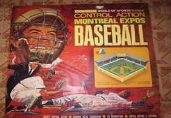 Montreal Expos Control Action Baseball Game