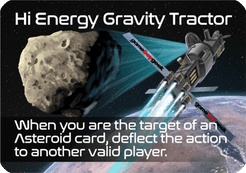 Moons: Hi Energy Gravity Tractor