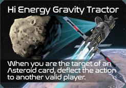 Moons: Hi Energy Gravity Tractor