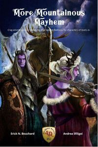 More Mountainous Mayhem: Crags Adventures and Classes for Four Against Darkness