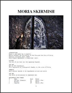 Moria Skirmish