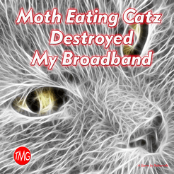 Moth Eating Catz Destroyed my Broadband