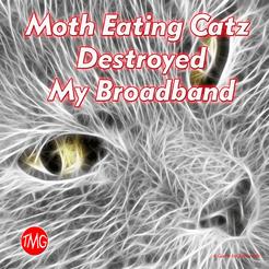 Moth Eating Catz Destroyed my Broadband