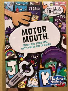 Motor Mouth Card Game
