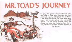 Mr. Toad's Journey