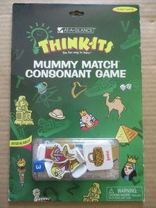Mummy Match: Consonant Matching Game