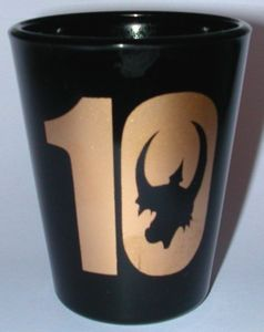 Munchkin 10th Anniversary Shot Glass