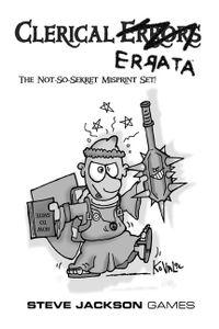 Munchkin 3.5: Clerical Errata