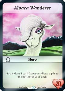 Munchkin Collectible Card Game: Alpaca Wanderer