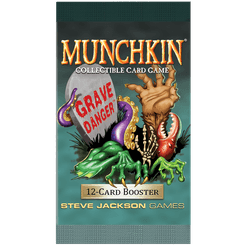Munchkin Collectible Card Game: Booster – Grave Danger