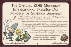 Munchkin Dungeon: Dungeon of Superior Shopping