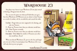 Munchkin Dungeon: Warehouse 23