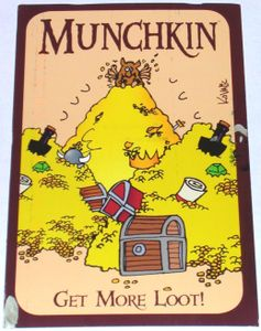 Munchkin Get More Loot! Promotional Postcard