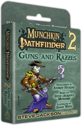 Munchkin Pathfinder 2: Guns and Razzes